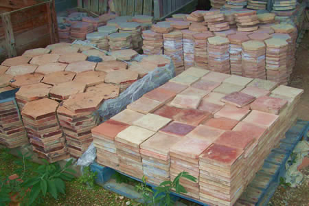 Terra Cotta Flooring   Reclaimed Ceramic Flooring And Tiles