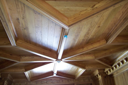 Reclaimed Antique wood beams