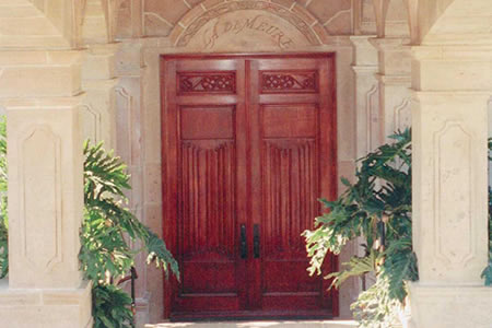 Reclaimed wood doors and architectural antiques